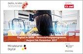 Digital in NRW + it's OWL veröffentlichen Industrie 4.0-Veranstaltungsprogramm