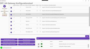 Abbildung 4 Hauptseite des Modbus2OpcUa Konfigurators